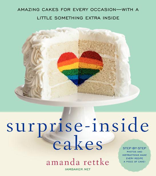 Surprise-Inside Cakes by Amanda Rettke