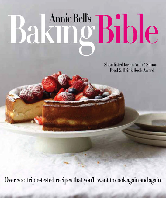 Annie Bell's Baking Bible | on TheCakeBlog.com