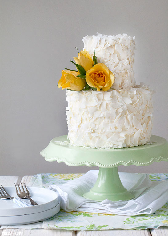 Coconutcake1jpg - Pineapple Wedding Cake