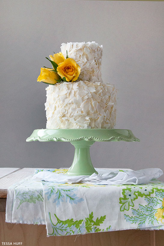 Coconut Cake Recipe | by Tessa Huff for TheCakeBlog.com