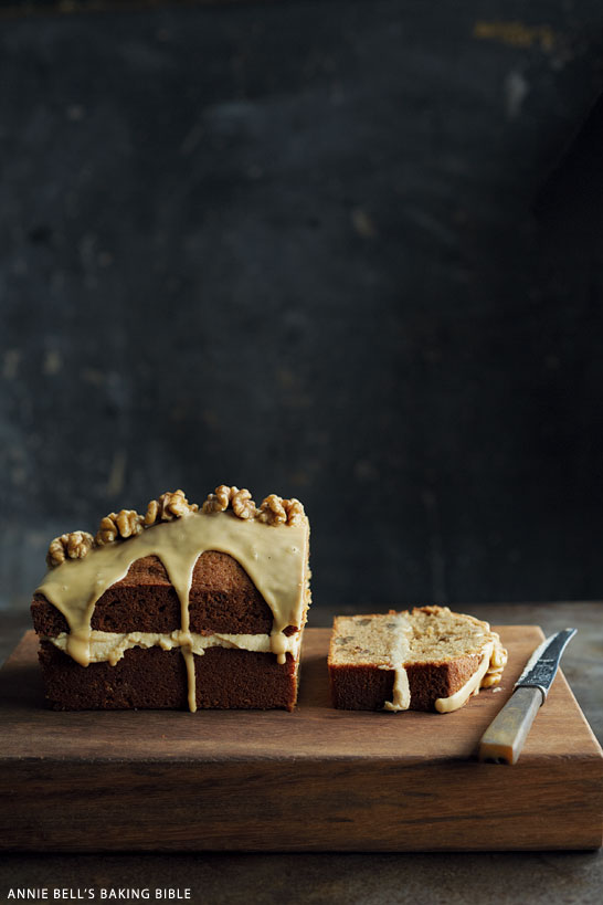 Coffe and Walnut Cake | from Annie Bell's Baking Bible | on TheCakeBlog.com