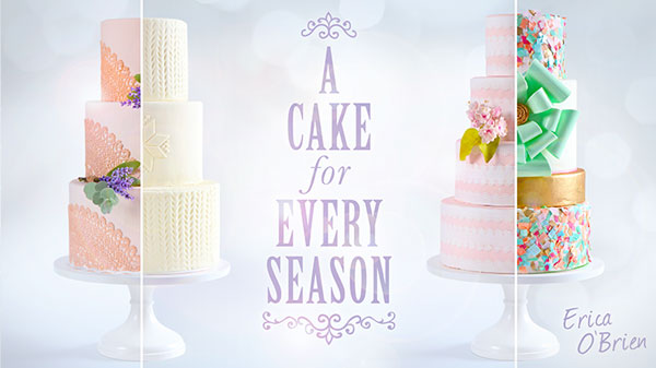 Learn Cake Decorating online with Erica OBrien at Craftsy