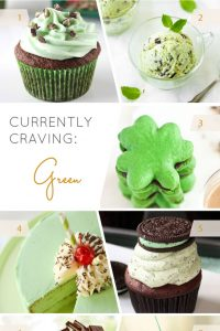 Currently Craving Green | Green dessert recipes for St. Patrick's Day