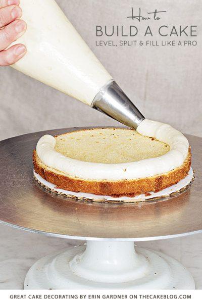 How To Build a Cake Like a Pro