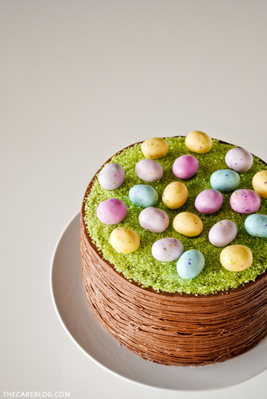 Easterbasketcake2g easy easter basket cake a diy by carrie sellman of thecakeblog negle Gallery