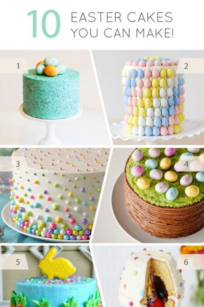 10 Easter Cakes You Can Make