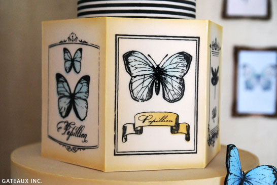 Vintage Butterfly Cake | by Gateaux Inc.