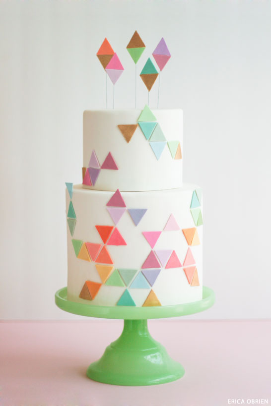 Design Patterns Of Cake : TRENDING : Geometric Patterns