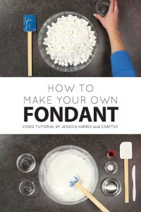 How to Make Marshmallow Fondant | with Jessica Harris & Craftsy