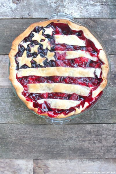 Red, White & Blue Desserts