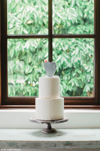 Prickly Pear Wedding Cake