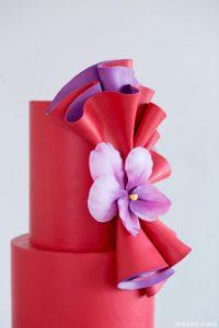 Dancing Violets Cake