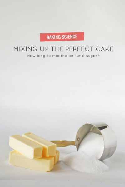Mixing Up the Perfect Cake