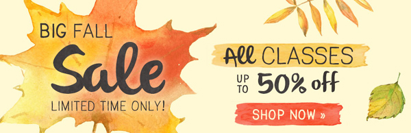 Sale!  Up to 50% Off Craftsy Cake Decorating Classes | Learn cake decorating online at Craftsy