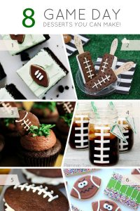 Football Game Day Desserts that you can make at home | TheCakeBlog.com