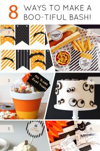 8 Ways to make a Boo-tiful Halloween Bash | on TheCakeBlog.com