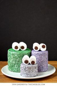 DIY: Glammy Monster Cakes