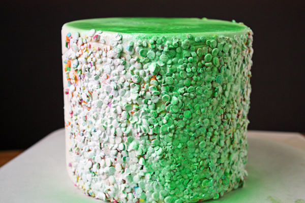 DIY Glammy Monster Cakes | by Erin Gardner for TheCakeBlog.com