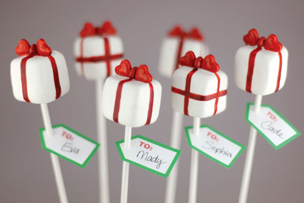 Diy Christmas Cake Pops Pretty Present Cake Pop Diy