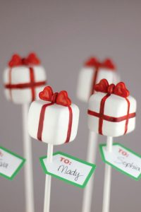 Pretty Present Cake Pop DIY  | by Bakerella on TheCakeBlog.com