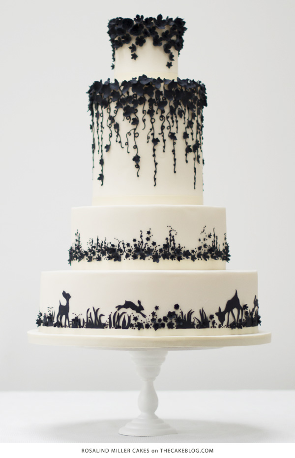 beautiful black and white wedding cake pictures 10 pretty black cakes 11205