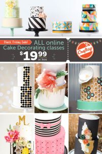 All Cake Classes on Sale!!