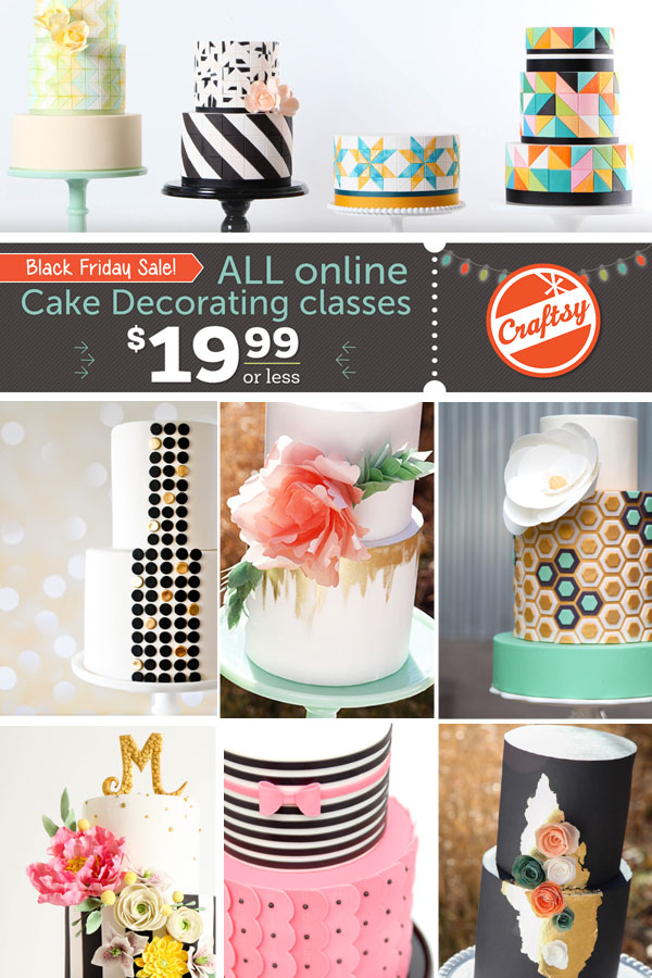 Cake Decorating Classes Free : All Cake Classes on Sale!!