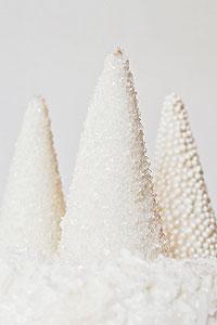 Sparkling Christmas Trees from ice cream cones | TheCakeBlog.com