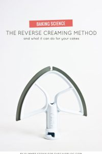 The Reverse Creaming Method and what it can do for your cakes | a Baking Science article by Summer Stone for TheCakeBlog.com