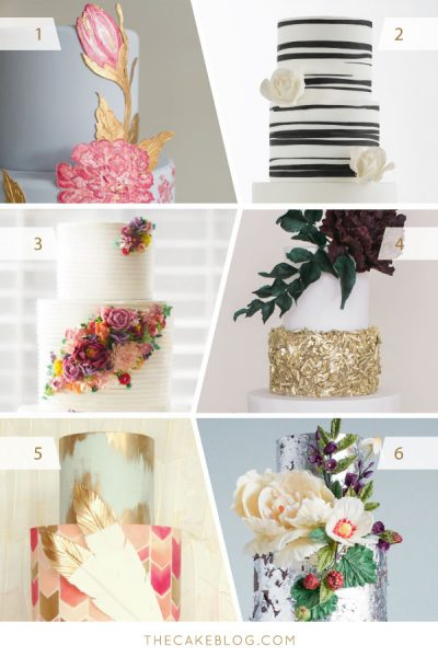 2015 Wedding Cake Trends