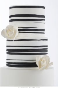 2015 Wedding Cake Trends : Organic Patterns