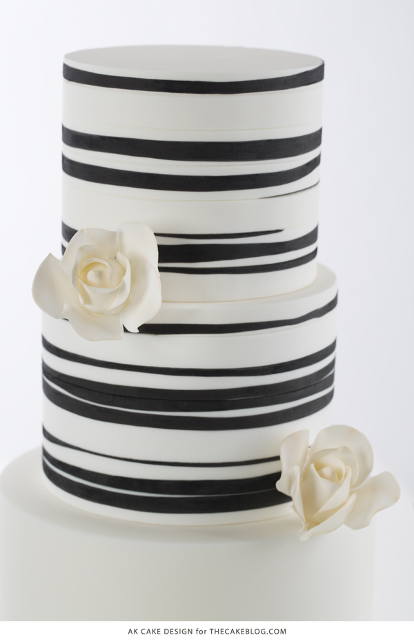 2015 Wedding Cake Trend : Organic Patterns