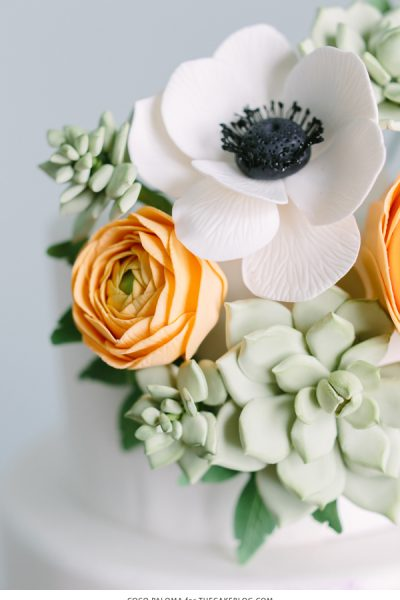 2015 Wedding Cake Trends : Relaxed Bohemian