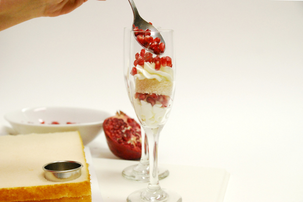 Valentine's Champagne Shooters | by Robin Martin for TheCakeBlog.com