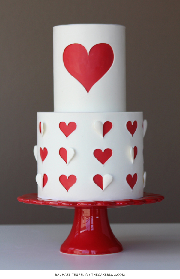 10 Love Inspired Cakes | including this design by Rachael Teufel | on TheCakeBlog.com