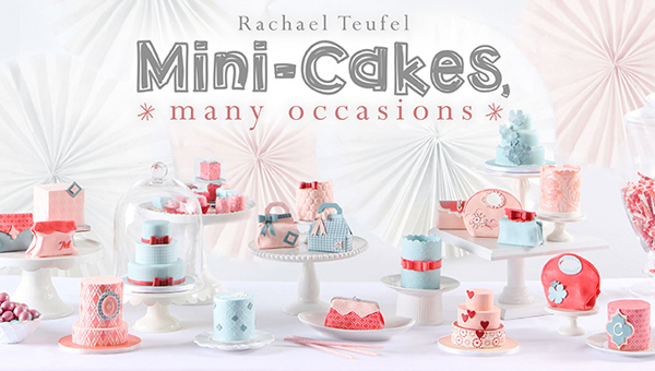Learn how to make mini cakes with Rachael Teufel online at Craftsy