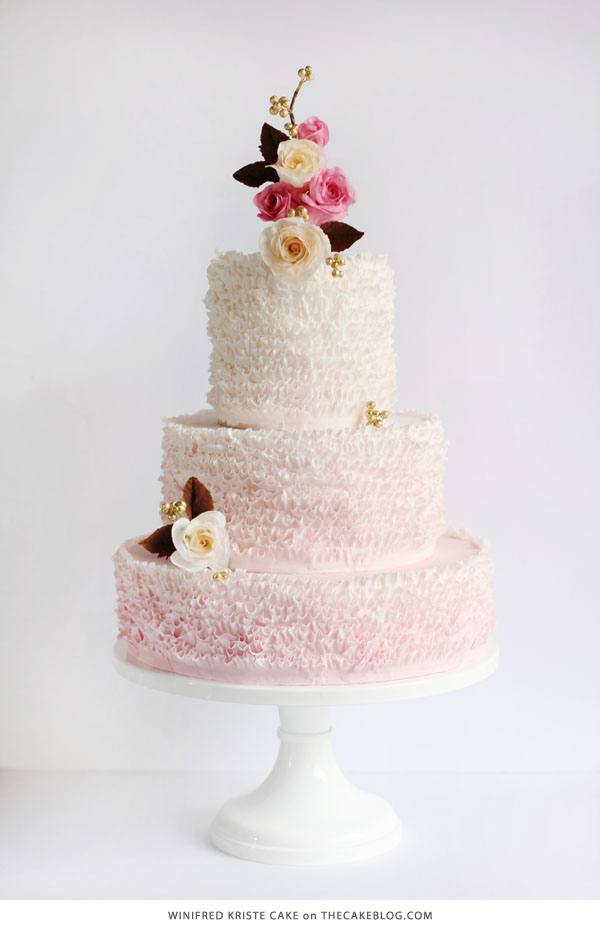 10 Love Inspired Cakes | including this design by Winifred Kristé Cake | on TheCakeBlog.com