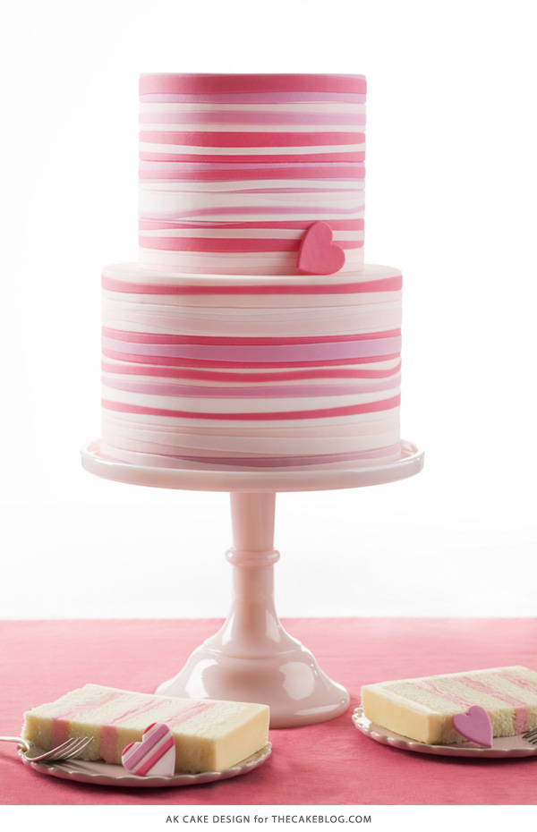 10 Love Inspired Cakes | including this design by AK Cake Design | on TheCakeBlog.com