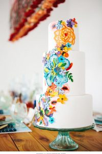 10 Watercolor Cakes | including this design by Baked | on TheCakeBlog.com