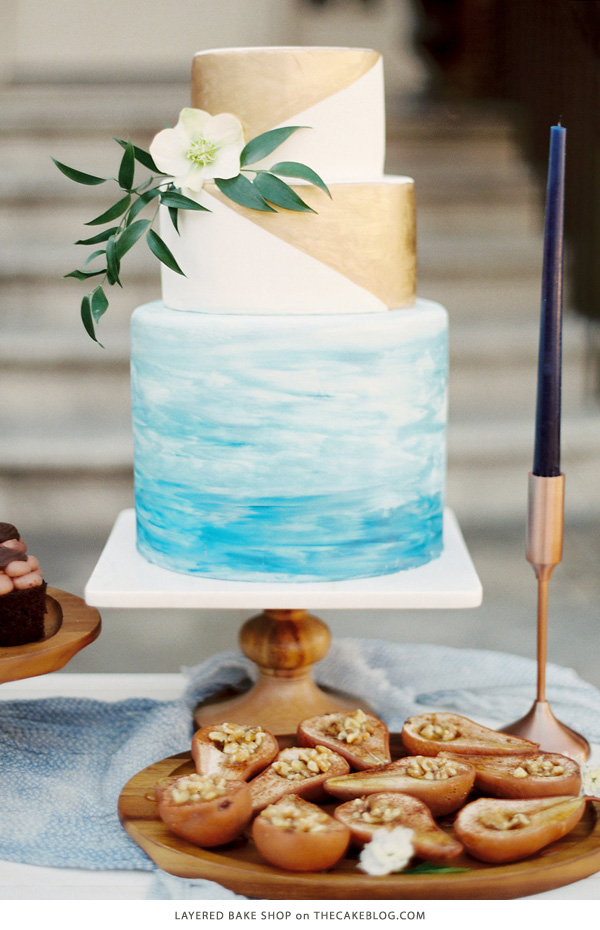 10 Watercolor Cakes