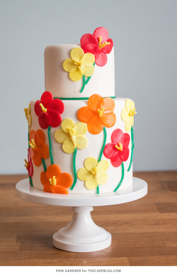 Candy Flower Cake The Cake Blog