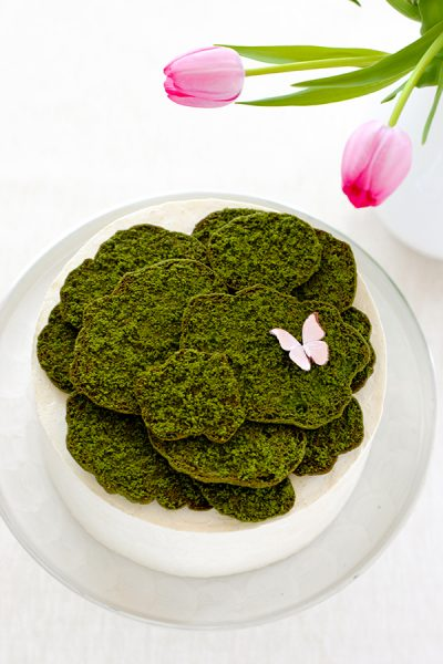 Cookie Moss Cake