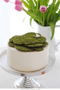 DIY Edible Moss Cake