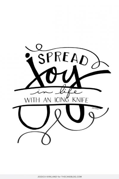 FREE : Spread Joy Print