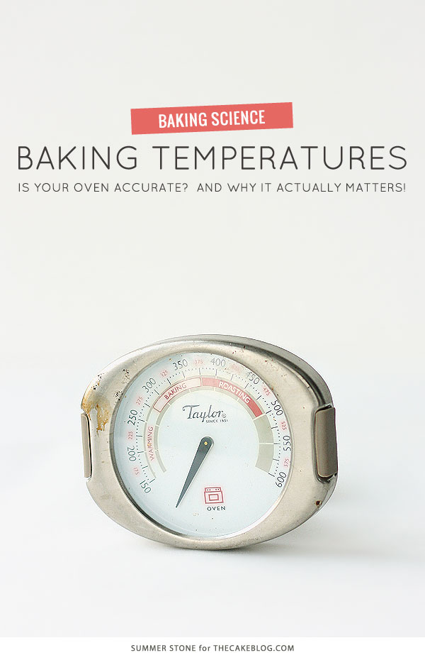 Is your oven accurate?  And why it actually matters!