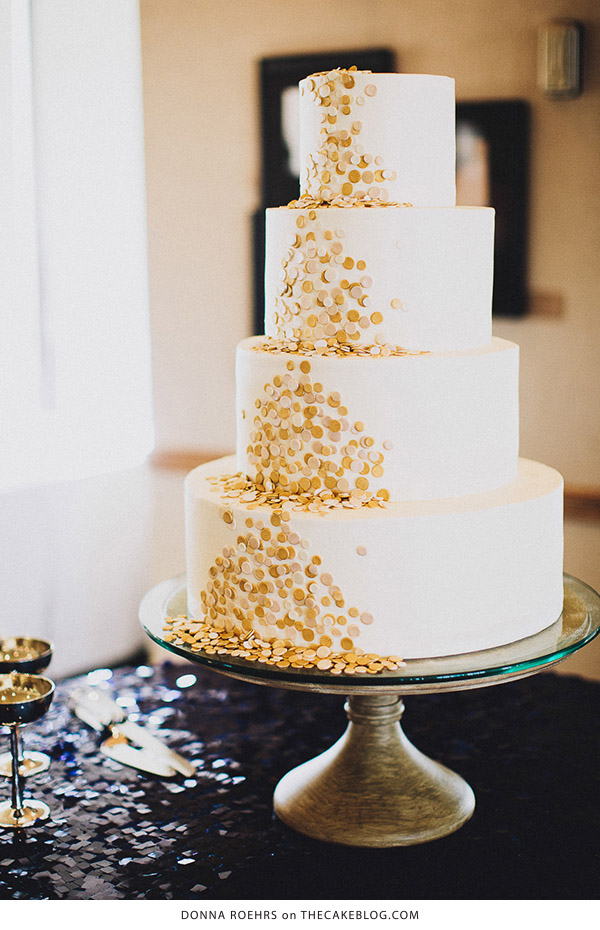 10 Confetti Throwing Cakes  | including this design by Donna Roehrs  | on TheCakeBlog.com