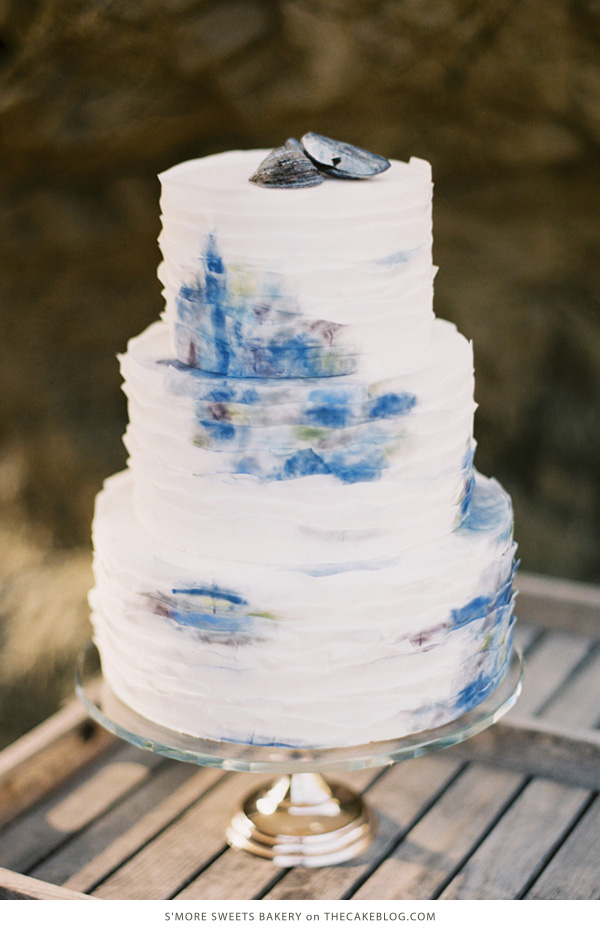 10 Sea-Loving Nautical Cakes  | including this design by S'more Sweets Bakery| on TheCakeBlog.com