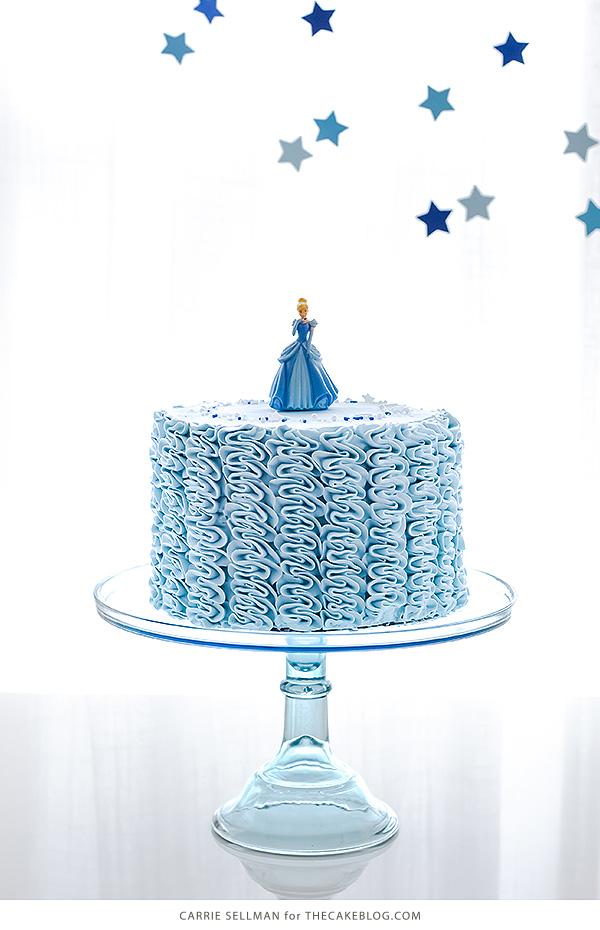 Fine Fairytale Ruffle Cake The Cake Blog Birthday Cards Printable Riciscafe Filternl