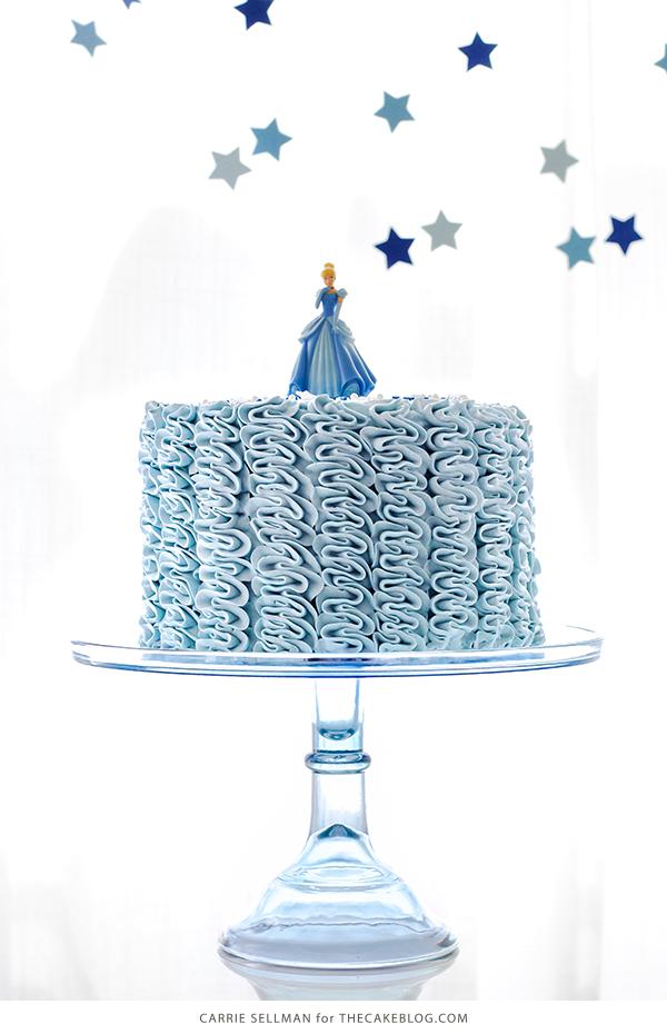 Groovy Fairytale Ruffle Cake The Cake Blog Funny Birthday Cards Online Drosicarndamsfinfo