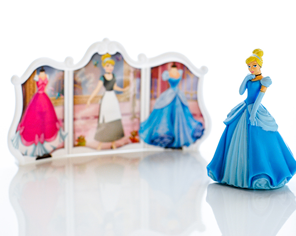 Disney Princess Cinderella Transforms DecoSet® Cake Topper